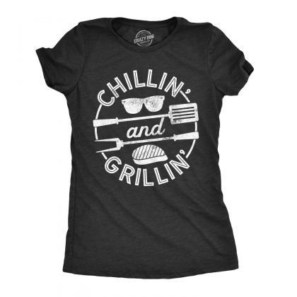 BBQ Shirt Mom, Womens Barbecue Cook..