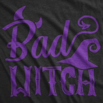 Bad Witch T Shirt, Crazy Witch Tshi..
