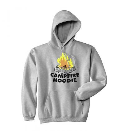 Campfire HOODIE, Camping Gifts, Sum..