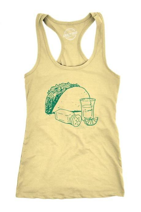 Taco Tequila Shirt Women, Taco Tuesday, Womens Taco Shirt, Funny Taco Tank Top, Womens Funny Shirt, Taco Tuesday, Drinking Tee