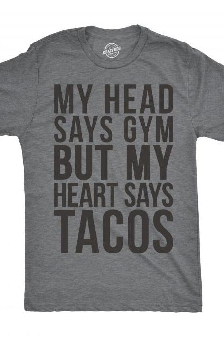 Taco Gym Shirt, Workout Shirt Men, Funny Mens Shirt, Funny Workout Shirt, Taco T shirt, Funny Gym Shirt for Men, Mens Cool Tees
