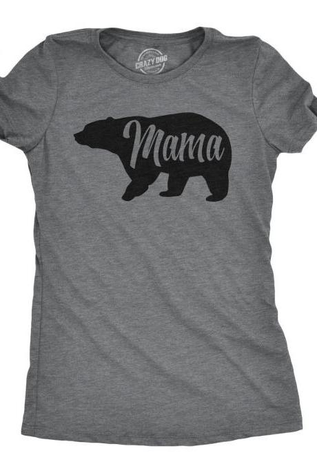 Mama Bear Shirt, Funny Shirt Moms, New Mom T Shirt, Gift For New Moms, Mothers Day Gift, Mom Shirt Funny, Momma Bear Tshirt