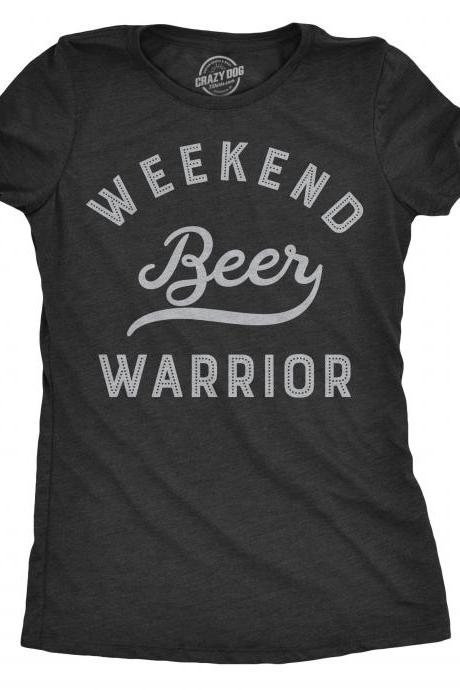 Beer Shirt Women, Weekend Warrior Shirt, Party Shirt Funny, Bachelorette Party Tee, Vegas Holiday Shirt, Girls Night Out, Weekend T Shirt