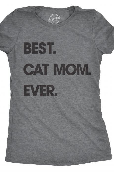 Cat Mom Shirt, Funny Cat Shirt, Gifts For Cat Owners, Womens Cat T Shirt, Gift for Cat Lovers, Shirt for Cat Lovers