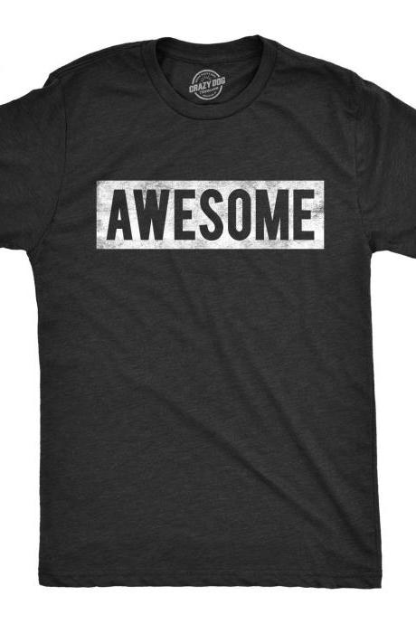 Awesome Shirt, Gamer Gift, Nerdy Shirts, Awesome Tee, Shirts For Husband, Funny Slogan Shirt, Teenager Gift Ideas, Cool Shirt
