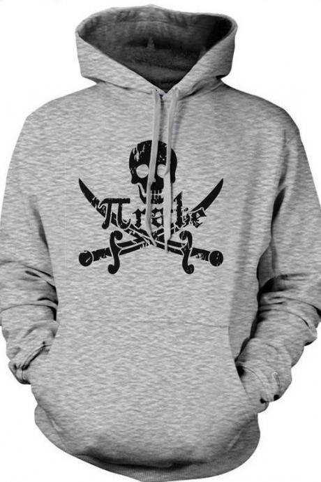 Pirate HOODIE, Pirate Skull Top, Mens Pirate Gifts, Sailor Hoodies, Nautical Hoodies, Pirate Sweat Top, Skull Swords Pirate Top