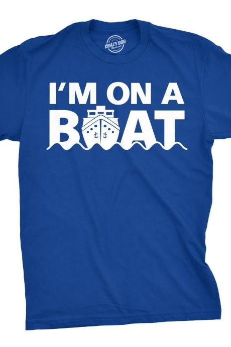 Funny Cruise Shirt, Boat Party Shirt, Sarcastic Shirt, Funny Nautical Shirt, Yachting Shirt, Gift For Boat Owner, New Boat Gifts