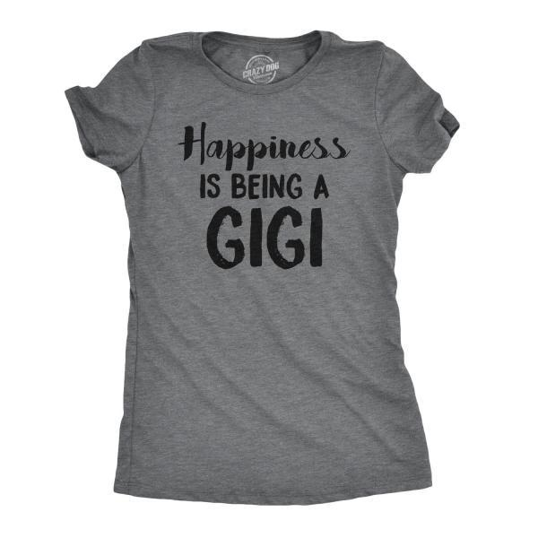 Happiness Is Being A GIGI T shirt, Grandma Gifts, Grandma Shirt, Nana Tshirt, Gift For Grandma, Funny Grandma Shirt, Grammy T Shirt